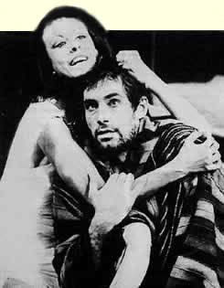ANTONY AND CLEOPATRA - Cleopatra - Dir: Lord Bernard Miles & Ron Pember - Mermaid Theatre, London. Principal cast incl: Timothy Dalton, Carmen Du Sautoy & Morgan Sheppard